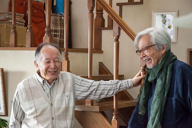 山田監督(右)&キャスト陣は「東京家族」から4度目の結集──伝わる強力タッグ感!