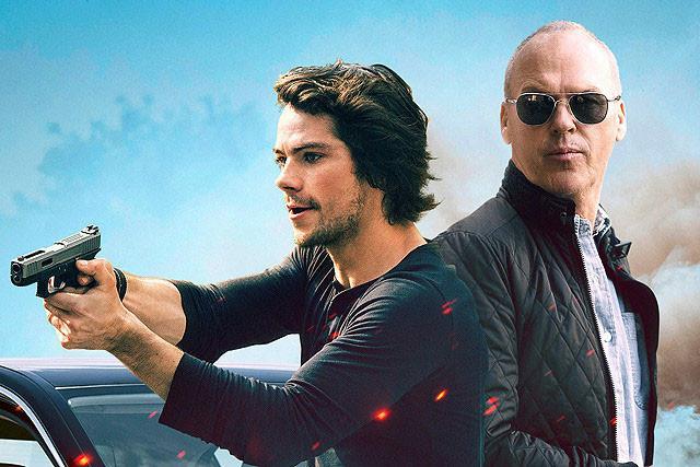 ディラン・オブライエン(左)とマイケル・キートン(右)が強力CIAタッグを結成!