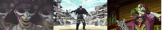 戦国日本×DCコミックの世界観! 見る者を驚かせる想定外シーンが続出!