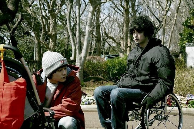 車椅子の男・田淵