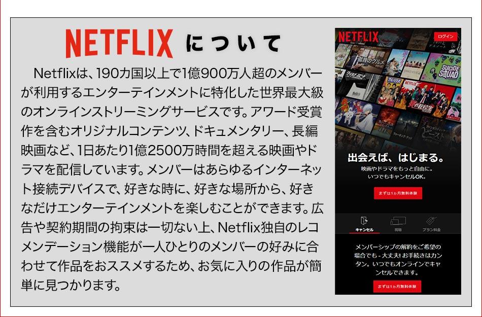 Netflixについて