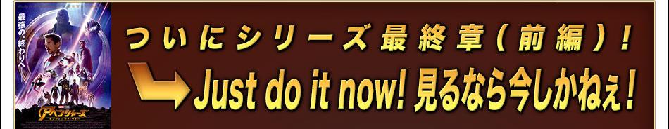 [国民的イベント6]ついにシリーズ最終章(前編)!⇒Just do it now! 見るなら今しかねぇ!