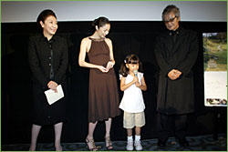 第19回東京国際映画祭 日本映画・ある視点部門公式出品 『長い散歩』舞台挨拶レポート