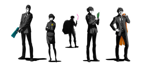 PSYCHO-PASS サイコパス Sinners of the System Case.1 罪と罰 & Case.2 First Guardian